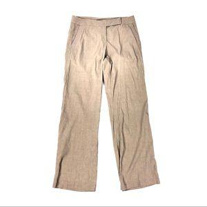 Eileen Fisher pants straight leg linen blend 10
